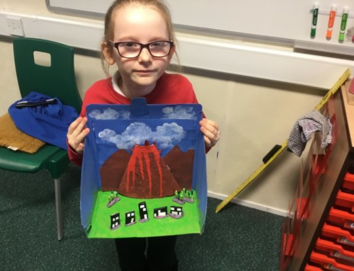 Volcanoes in Year 3
